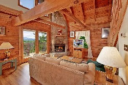 Amazing VistaGatlinburg cabin with a view