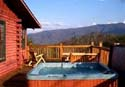 Pet Friendly Cuddlers View Romantic Getaway Cabin Rental